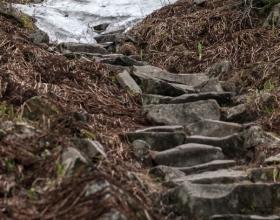 Babia Góra - koniec maja, a w górach jeszcze ostatki śniegu