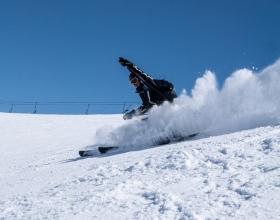 Na nartach we Włoszech Livigno